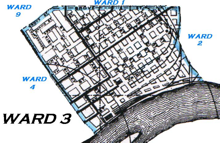 KinSource 1909 Map Of St Paul  Ward 3